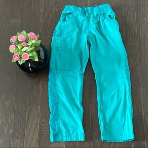 Pants - Aquamarine/Teal Blue Scrub Bottoms